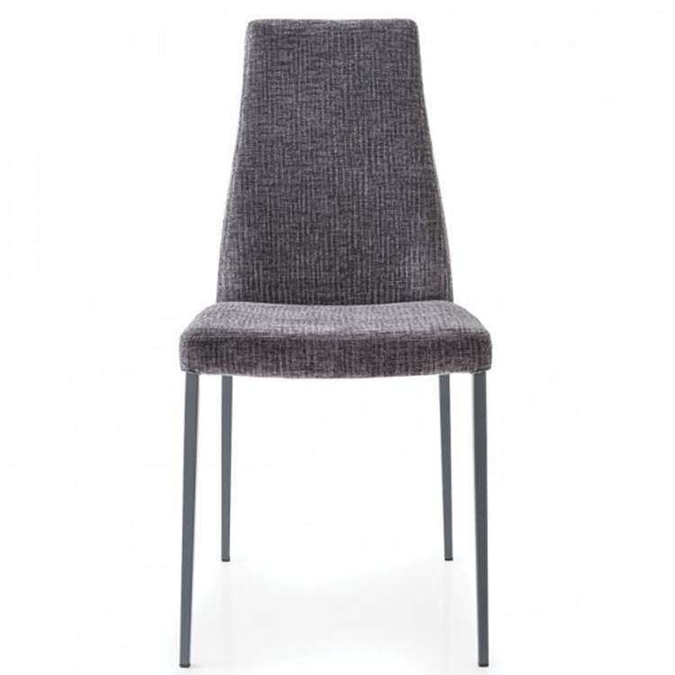 Calligaris Aida Soft Dining Chair Grey