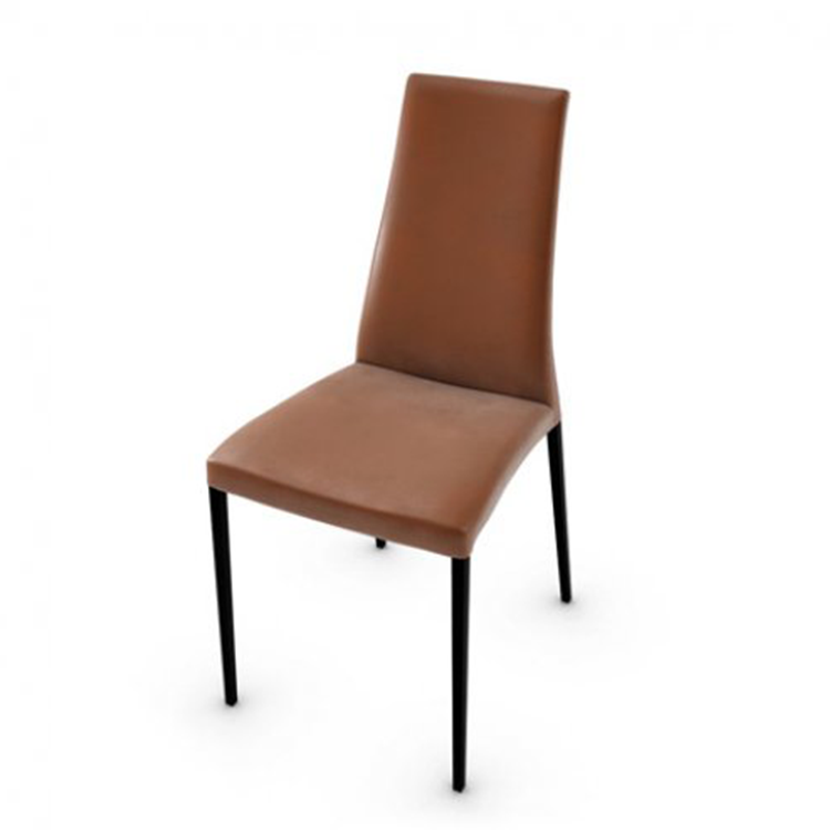 Calligaris Aida Soft Dining Chair Tobacco