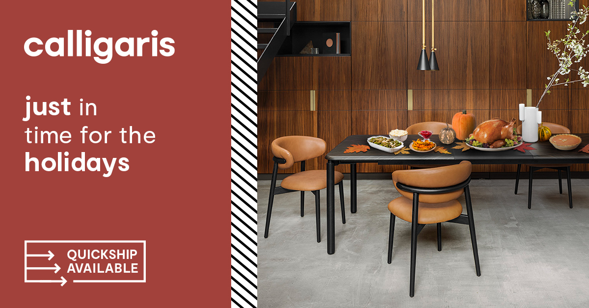 Calligaris Furniture Just in Time for the Holidays