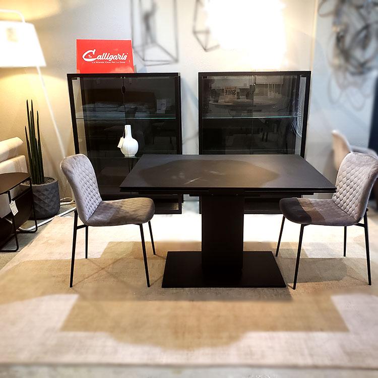 CALLIGARIS Echo Table and Teca Showcases